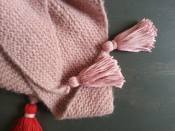 Chale en laine