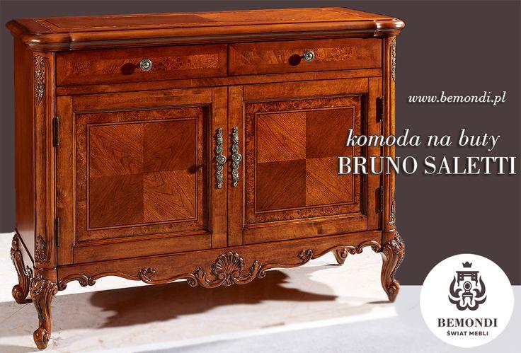 Komoda na buty w niezwykle wykwintnym wydaniu :)  www.bemondi.pl/przeznaczenie/meble-do-jadalni/komody-i-witryny/komoda-na-buty-bruno-saletti-56,1305.html  #Bemondi