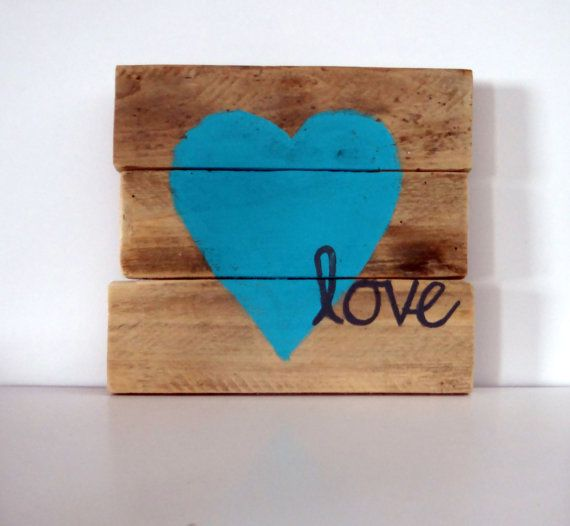 Pallet Sign Pallet Art Love Pallet Sign by CharmingWillows on Etsy, $25.00