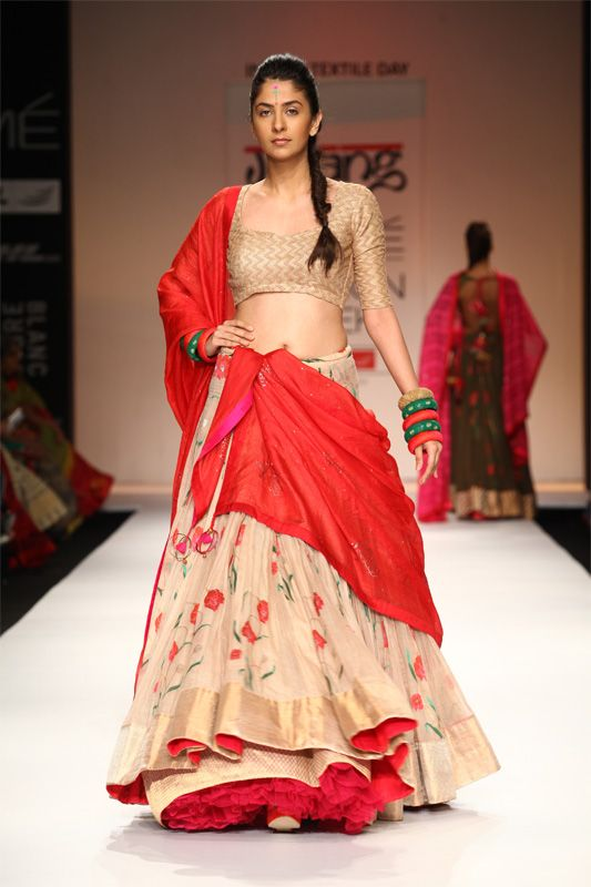 Lakmé Fashion Week – Gaurang Shah LFW SR 2013