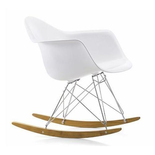 VITRA RAR sedia a dondolo Eames Plastic Armchair rocking chair base in acero