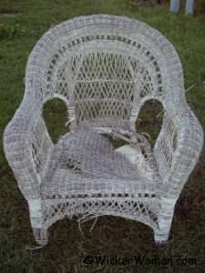 Need to know about the antique wicker you love and want to preserve?  Ask the Wicker Woman!