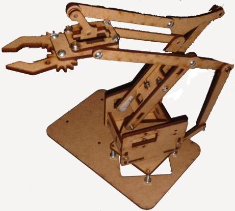 Curso Manipulação de braço robótico com arduino -Inscrições e informações: WhatsApp:21-98260-9360 | E-mail: treinamento@cerne-tec.com.br