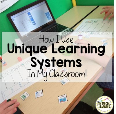 Do you use ULS with your special education students! Here is a quick post about how I'm using it this year!