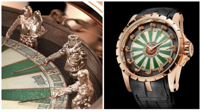 Губа не дура? Купи часы короля Артура! Самые невероятные наручные часы на планете #лайфхаки #технологии #вдохновение #приложения #рецепты #видео #спорт #стиль_жизни #лайфстайл