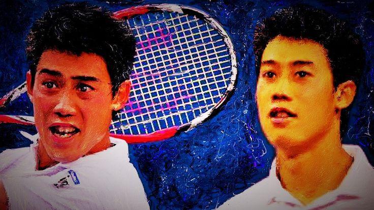 Nishikori Kei #錦織圭 #テニス #イラスト  昨日のフェデラー戦ストレート負け残念でした、以前はフェデラーを応援していたのに、錦織圭が出て来てからはやっぱり日本人応援です、昔テニスをしていた時仲間から、凄い選手が出て来たよと言われ見てみたら、修造のテニス道場で子供の頃のKが、凄いテニスをしていてコートの中でエャーKのマネをしていましたね、今思えばあれから虜になっていたのでしょうね!   YouTubeにアップしました錦織圭のイラストpictureをスライド動画にしてます。  http://youtu.be/2oubxYzjWhc
