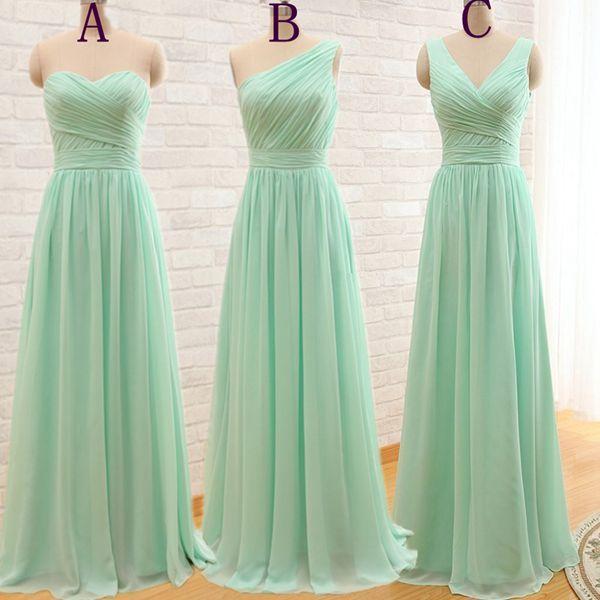 Mint Green Bridesmaid Dresses f0bbda51ae48