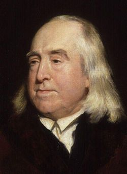 Jeremy Bentham (London, 1748) was a British philosopher, jurist and social reformer regarded as the founder of modern utilitarianism. He became a leading theorist in Anglo-American philosophy of law and a political radical who advocated for individual and economic freedom, the separation of church and state, freedom of expression, equal rights for women, the right to divorce, animal rights, the decriminalising of homosexual acts, the abolition of slavery, death penalty and physical…
