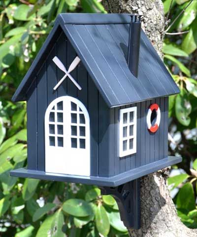 Home Bazaar Boat House Bird House at BestNest.com