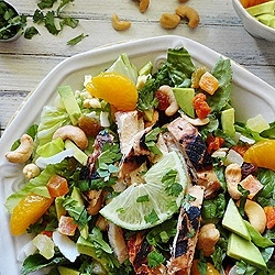 Key West Grilled Chicken Salad by amandascookin