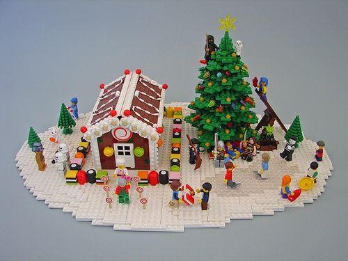 Lego Christmas Mocs Google Search Lego Lego Christmas
