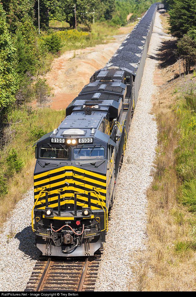 RailPictures.Net Photo: NS 8100 Norfolk Southern GE ES44AC at Stoneville, North Carolina by Trey Belton