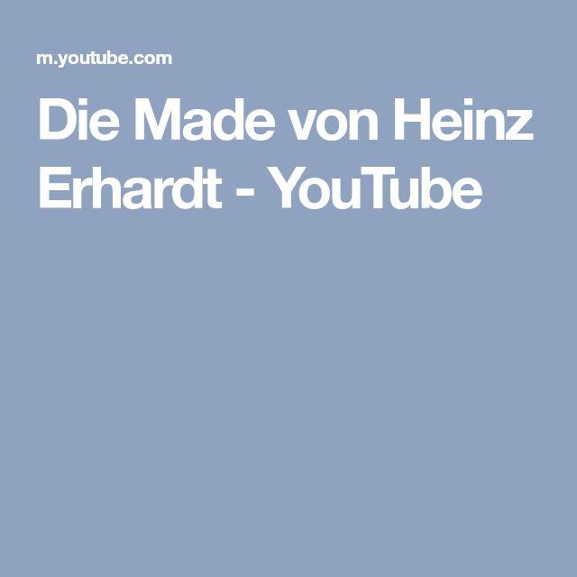 Die Made von Heinz Erhardt - YouTube