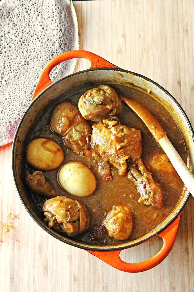 Doro wot: Ethiopian chicken stew // Rhubarbarians
