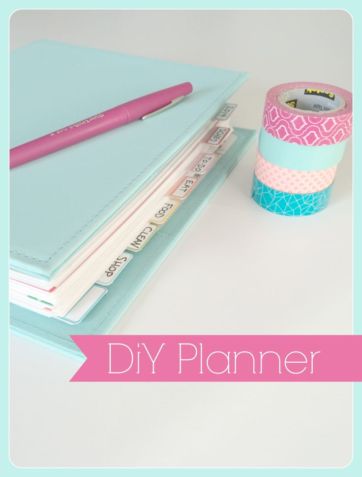 DIY Planner with links and printables