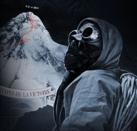 K2 first ascent - On July 31, 1954, the roped party of Uno Lacedelli and Achille Compagnoni, accompanied by their Vulcain Crickets, reached 8,620 metres  #vintagewatch