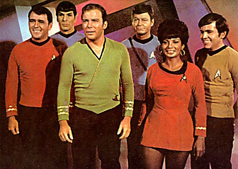 Star Trek (TOS) - the best starship Sr. officers in the federation...!