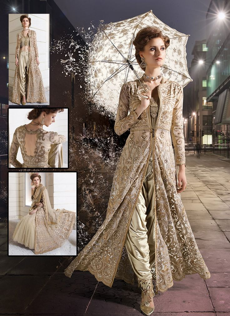New style dress materials india