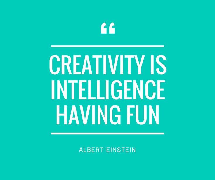 Creativity is fun..