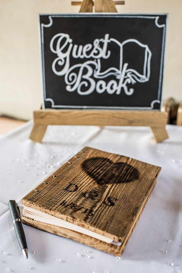 Winter Wedding Guest Book Ideas | Wedding Gallery