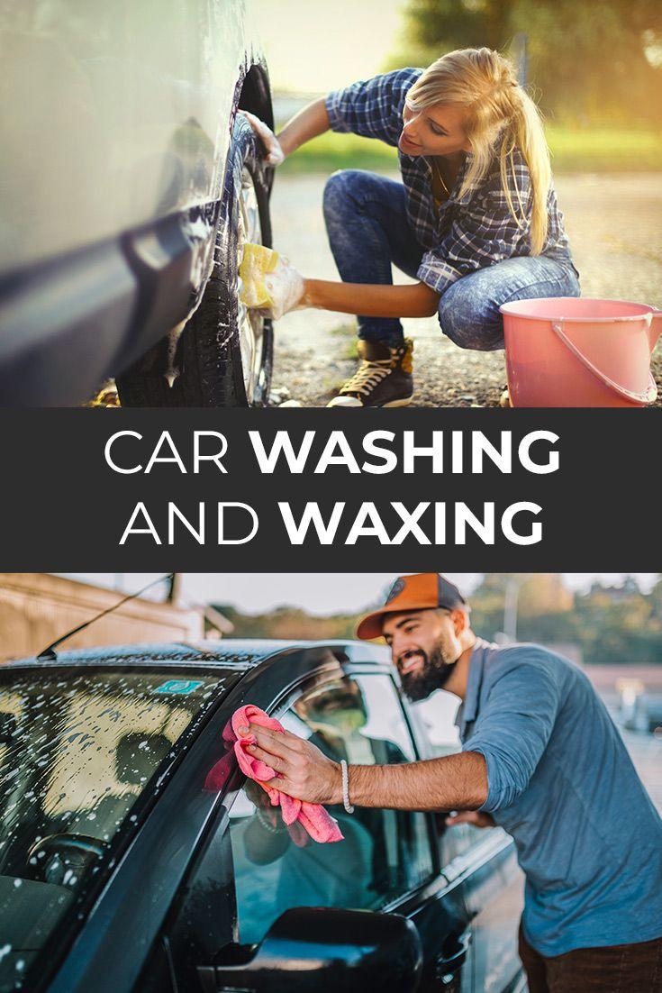 Car Washing And Waxing Car Wash Soap Car Wash Clean Your Car
