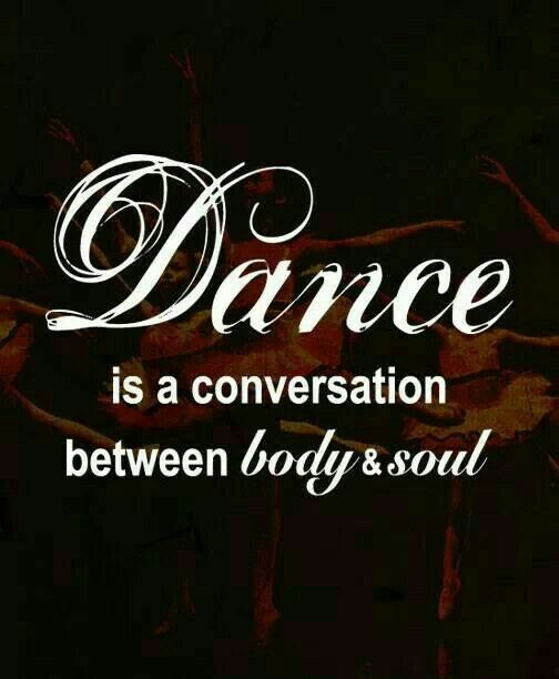 My soul is dancing with happiness