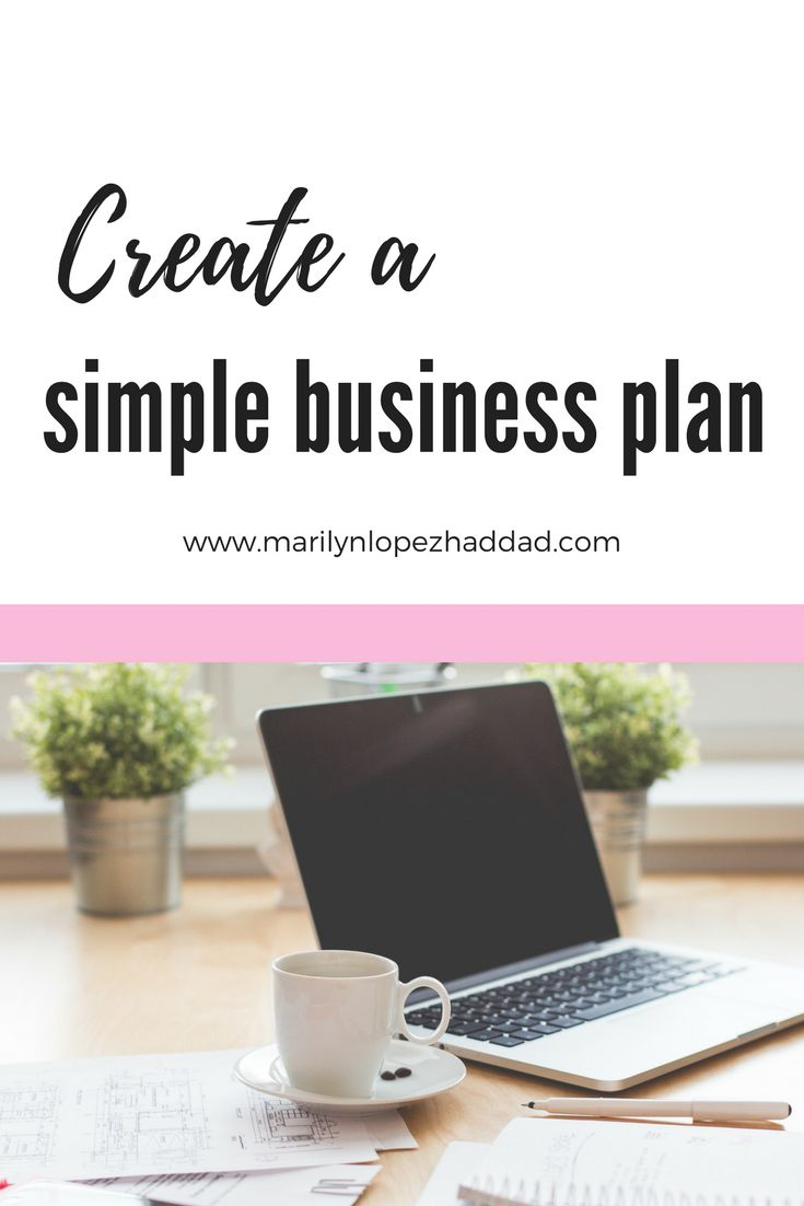 Best Simple Business Plan Ideas On Pinterest Simple Business - How to create a business plan template