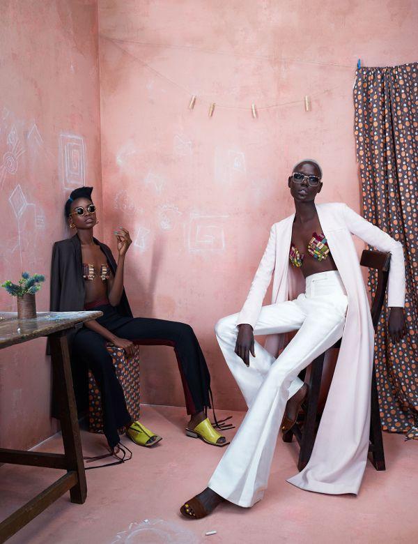 FEATURE: Models.com editorial shoot 'Africa Rising' - AFROPUNK