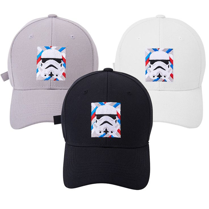 New Mens Womens STAR WARS Stormtrooper Baseball Trucker Strapback Hats Ball Caps #hellobincom #BaseballSnapbackCapHats