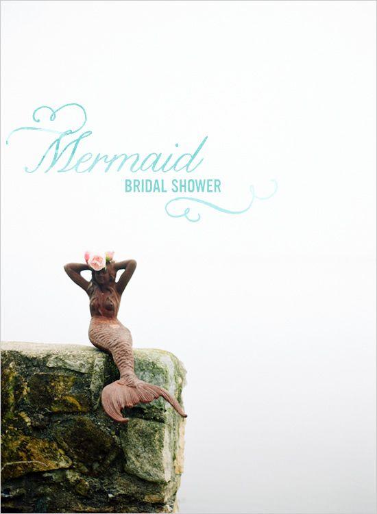 Mermaid Bridal Shower Ideas!!!!! Girls I hope you see this!!Ocean Bridal Shower, Wedding Shower, Baby Shower Ideas, Bridal Shower Ideas, Classic Brides, Fun Ideas, Mermaid Bridal Shower, Bridal Shower Mermaid, Bridal Showers