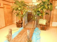son treasure island craft ideas - Google Search ** For the doorway from outside into the church