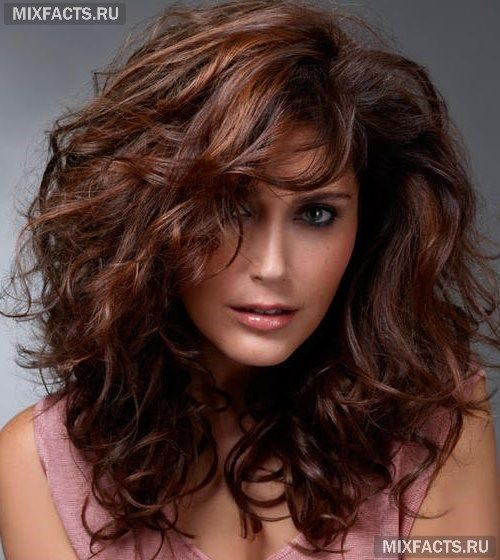 каштановый цвет волос