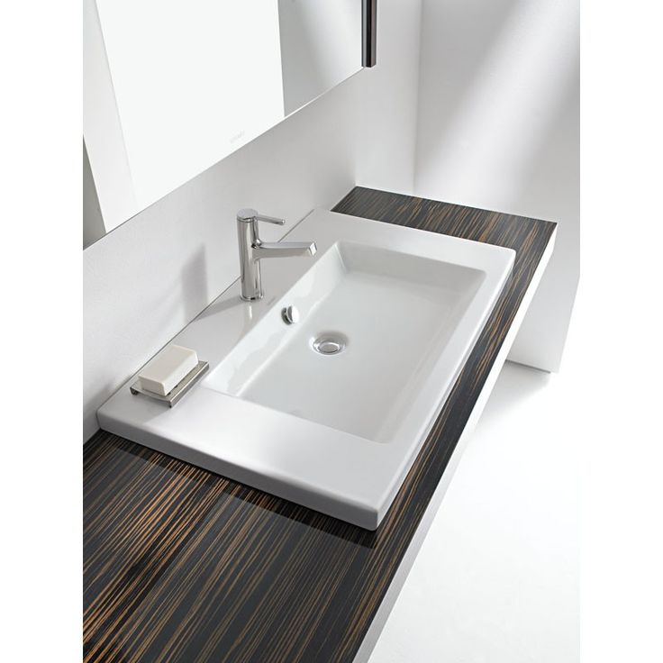 Duravit 2nd Floor 600 x 430mm Vanity Inset Basin - White