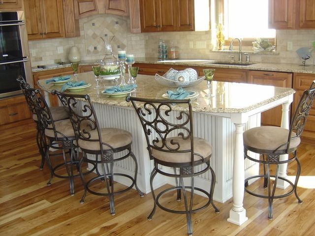 Kitchen Island With Seating On Both Sides | Found On Ths.gardenweb.com