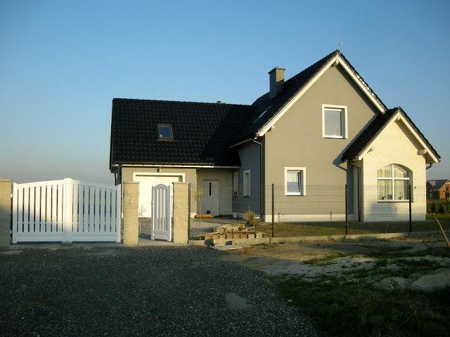 Image result for biala elewacja okna zloty dab