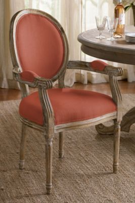 Oval Back Bergere Armchair from Soft Surroundings