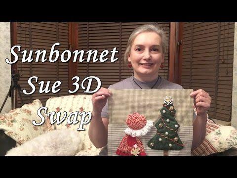 Sunbonnet Sue 3D - SWAP
