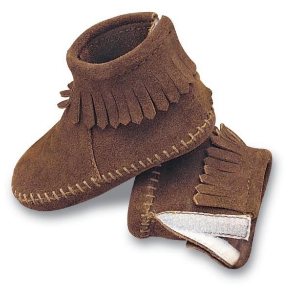 infant velcro booties