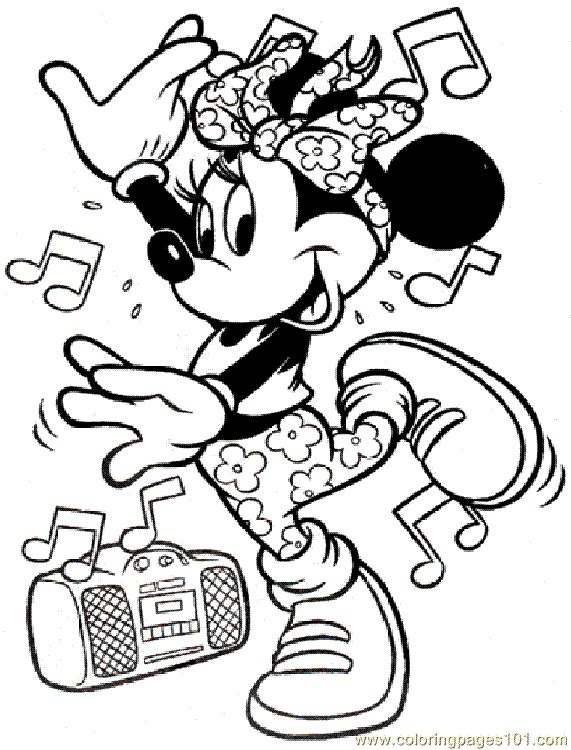 298 best minnie mouse coloring pages for jacey images on pinterest ... - Disney World Coloring Pages Print