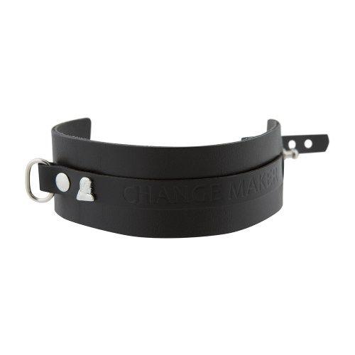 Nomad Leather Bracelet – M3 – Change Maker