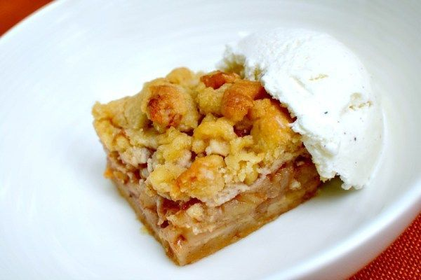 I baked Ina Garten's Apple Pie Bars on Sunday afternoon and it's safe to say that it's the best baking recipe that I've tried in a long time. Ina + Apple Pie = two things you just can't go wrong with.