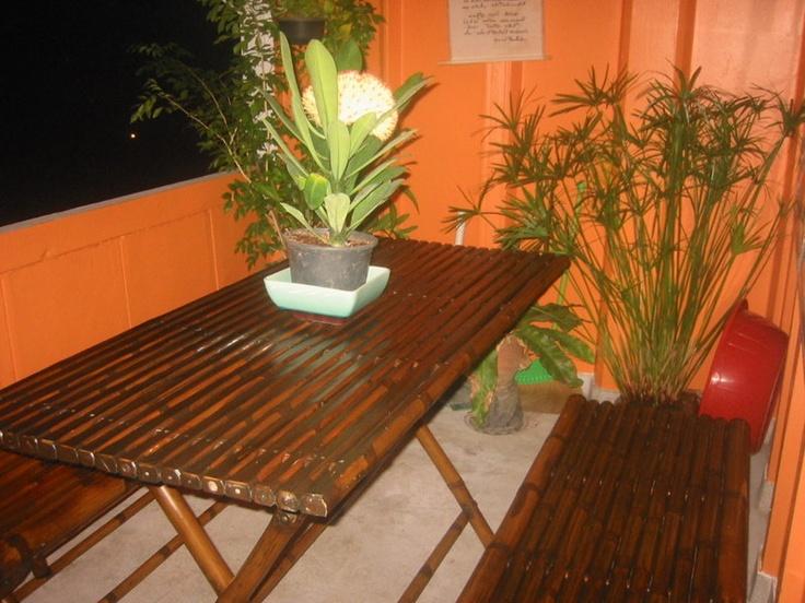 Balcony Dining Room Pitak Court Bangkok