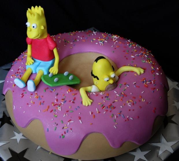Simpsonovci , rozprávkové ... torty | Tortyodmamy.sk