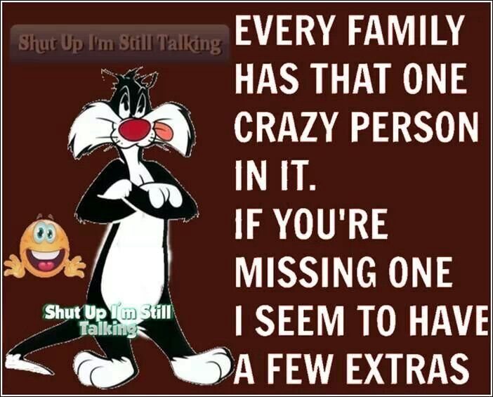 Pinterest Crazy Quotes: 1000+ Ideas About Crazy Family Humor On Pinterest
