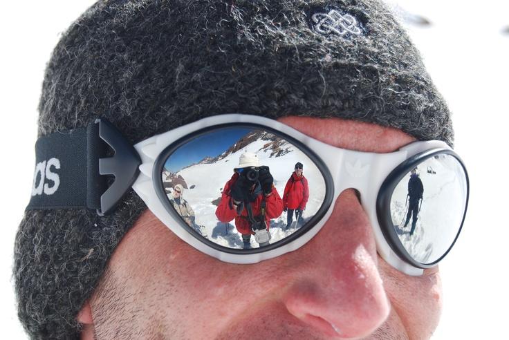 Leading a winter climb on Jebel Toubkal, Atlas Mountains, Morocco, 2012 #greatwalker