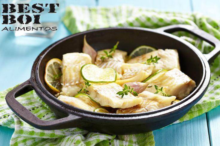 Já pensou em comer uma pescada branca? Na Best Boi você encontra a receita! Se é Best Boi, é melhor! #receita #peixe #pescada #branca #delicia