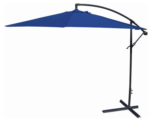 Jordan Manufacturing 10-ft. Offset Umbrella - Bring some shade to your patio with the Jordan Manufacturing 10-ft. Offset Umbrella. Crafted of spun polyester, this umbrella is a perfect for accenti...