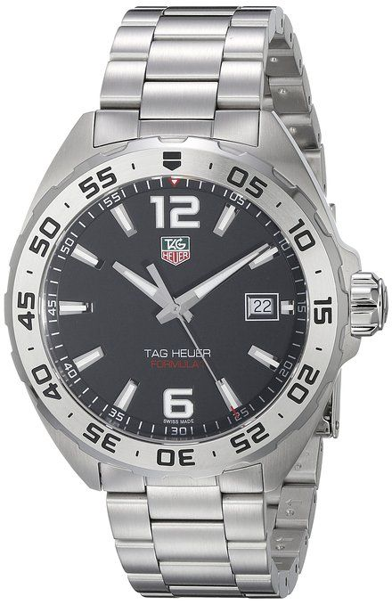 TAG Heuer Men's WAZ1112.BA0875 Formula 1 Stainless Steel Watch. Just #amazing #MENSTYLE  #FASHION