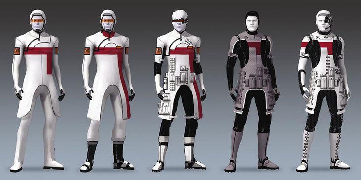 Mass Effect clothing