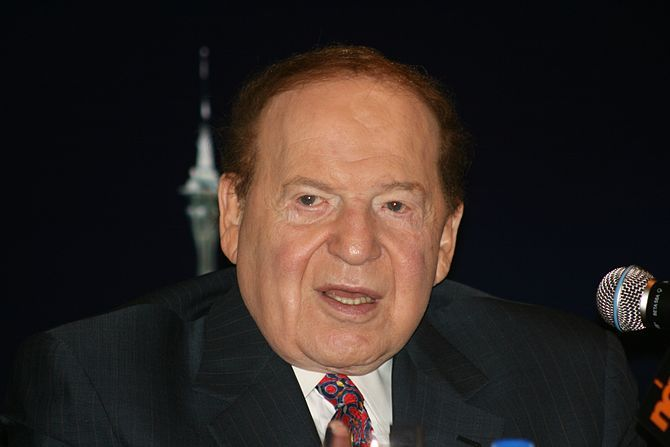 Casino magnate, Sheldon Adelson, continues speaking out against online gambling. Article and photo at Forbes.